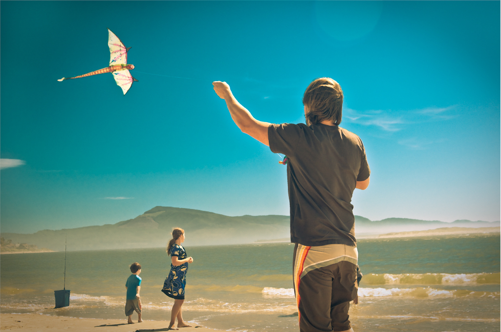 Kite flying © Brooke McAllister