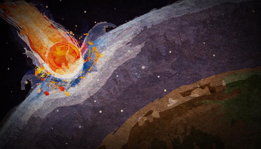"""""""Kometenschlag"""" von Ben Crowder"""