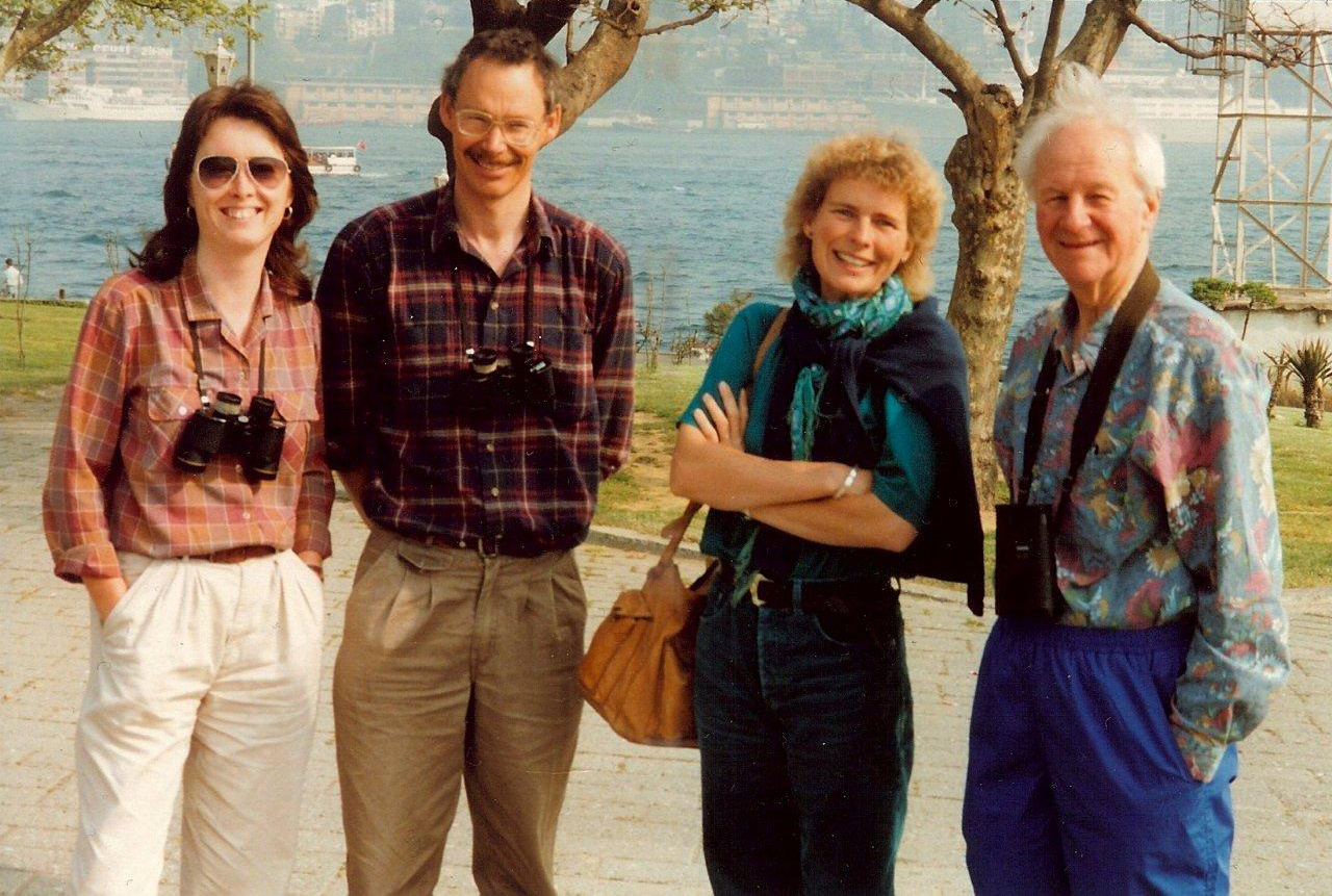 Barbara, Rick, Miranda and John in Turkey, 1992