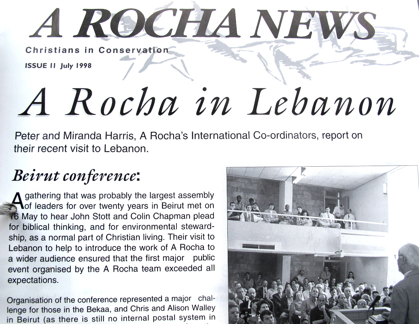 John Stott and the Lebanon A Rocha meeting