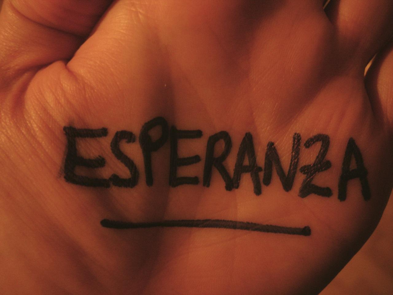 """Esperanza"", por Manny Hernández"