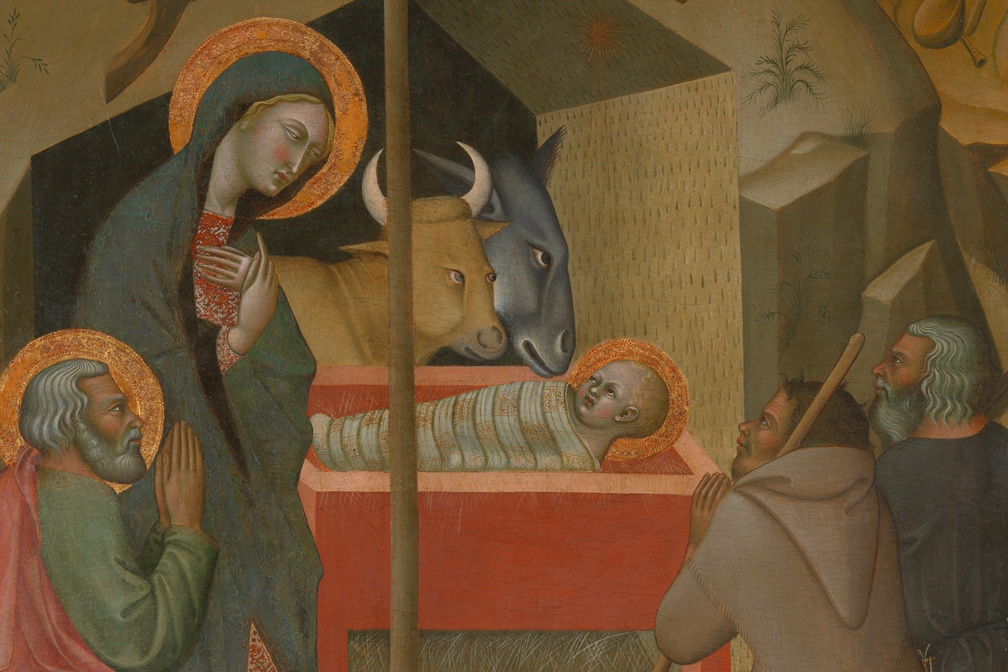 Adoration of the Shepherds, by Bartolo di Fredi (c. 1374)