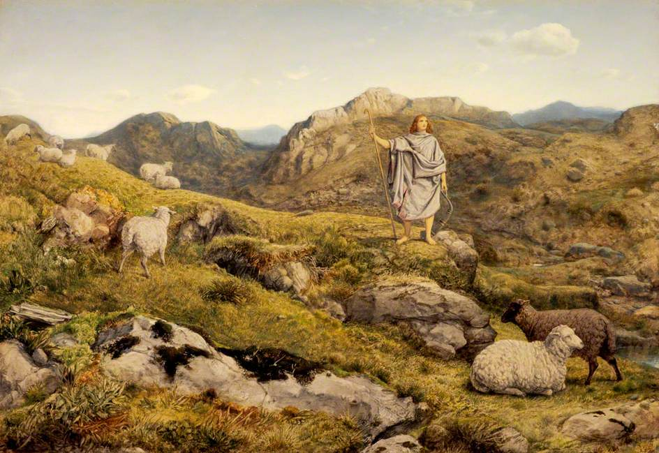 'David in the wilderness with sheep', by William Dice – National Galleries of Scotland, Edinburgh