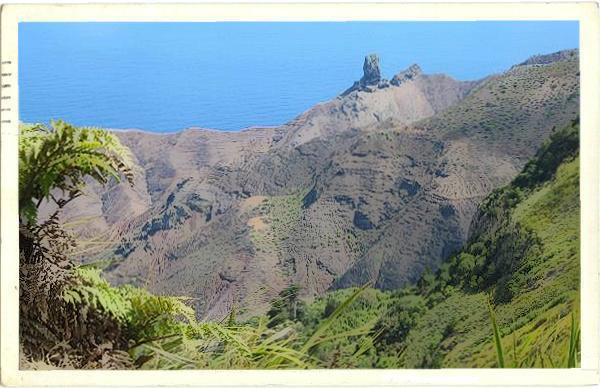 St Helena postcard
