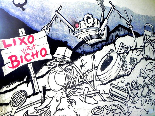 Lixo vira Bicho – Projeto da Jocum Belém (mutirão de limpeza)