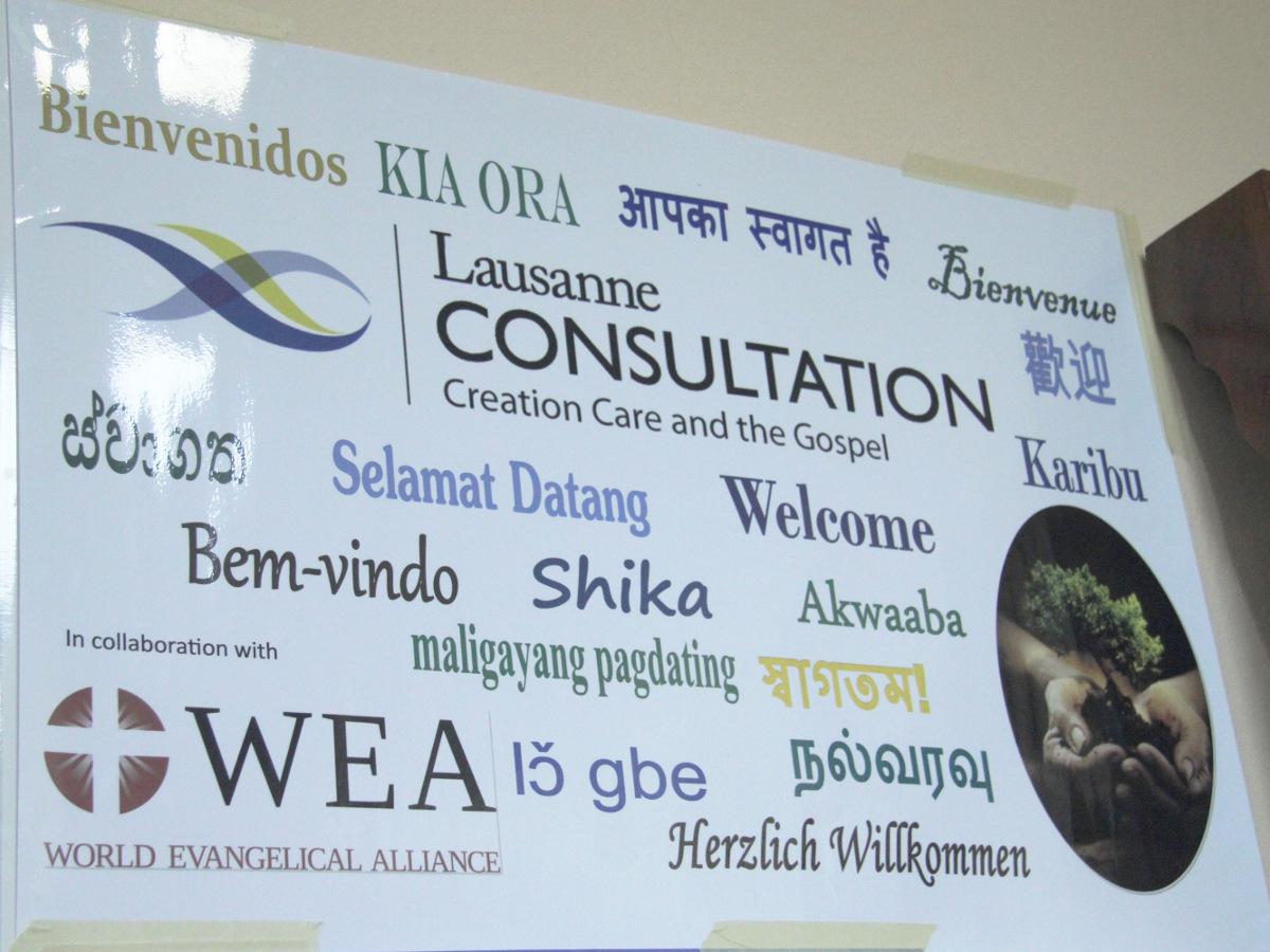 Creation Care conference S Chiu