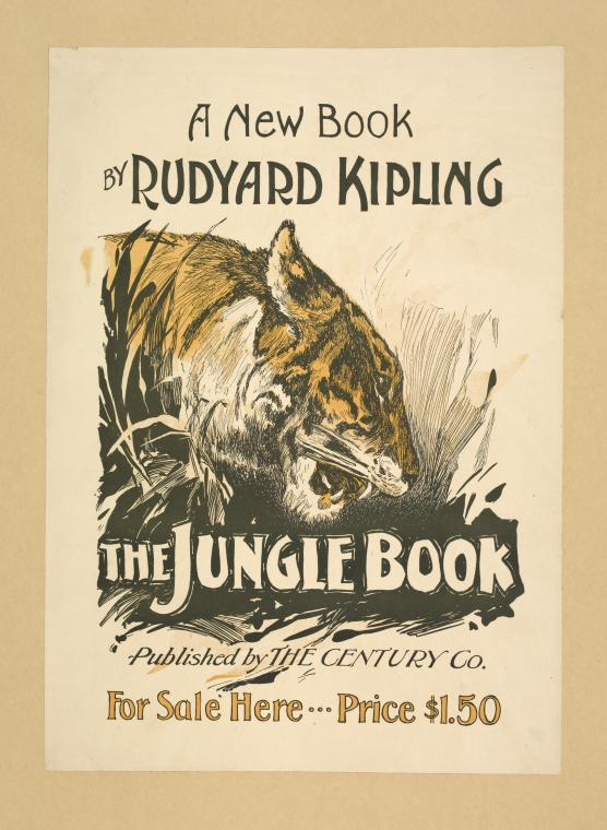 Jungle Book Rudyard Kipling poster