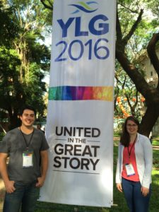 Ben Lowe and Rachel Lamb at YLG2016_photo by Jenny Yang