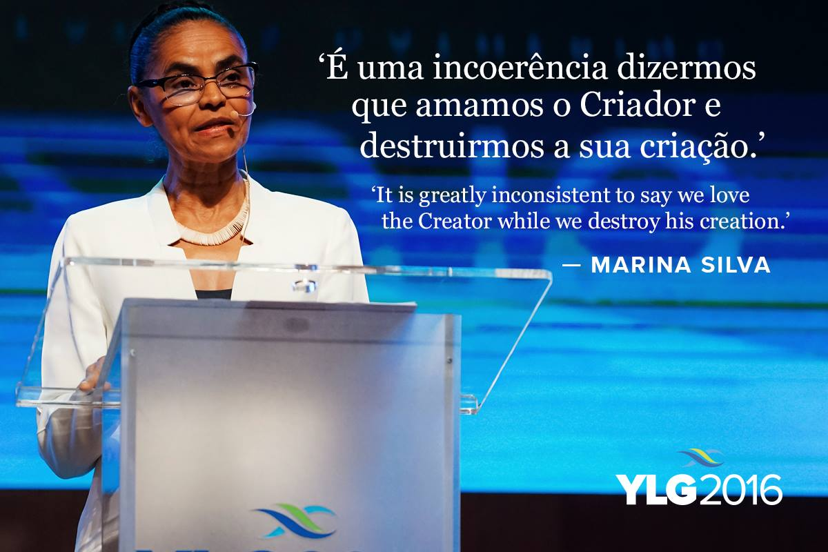 Marina Silva at YLG_photo and image by the Lausanne Movement