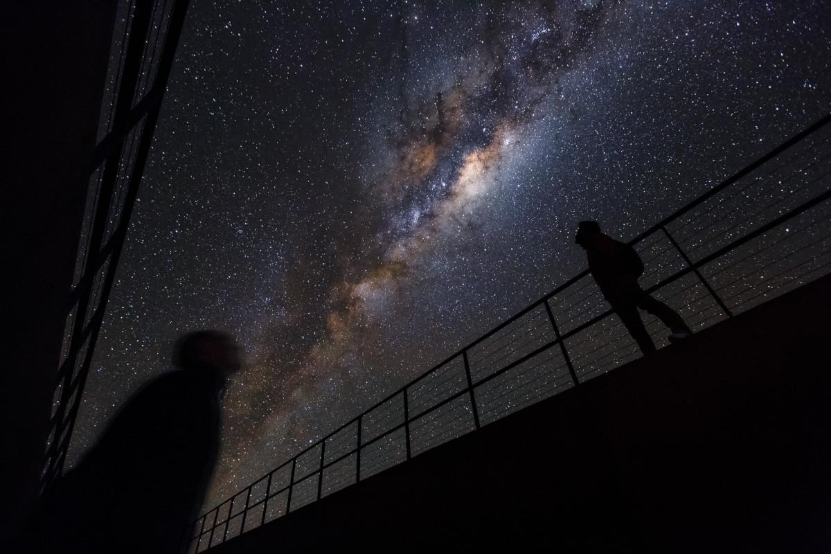 """Beneath the Milky Way"" – Credit: ESO/Luís Calçada/Herbert Zodet (CC BY)"