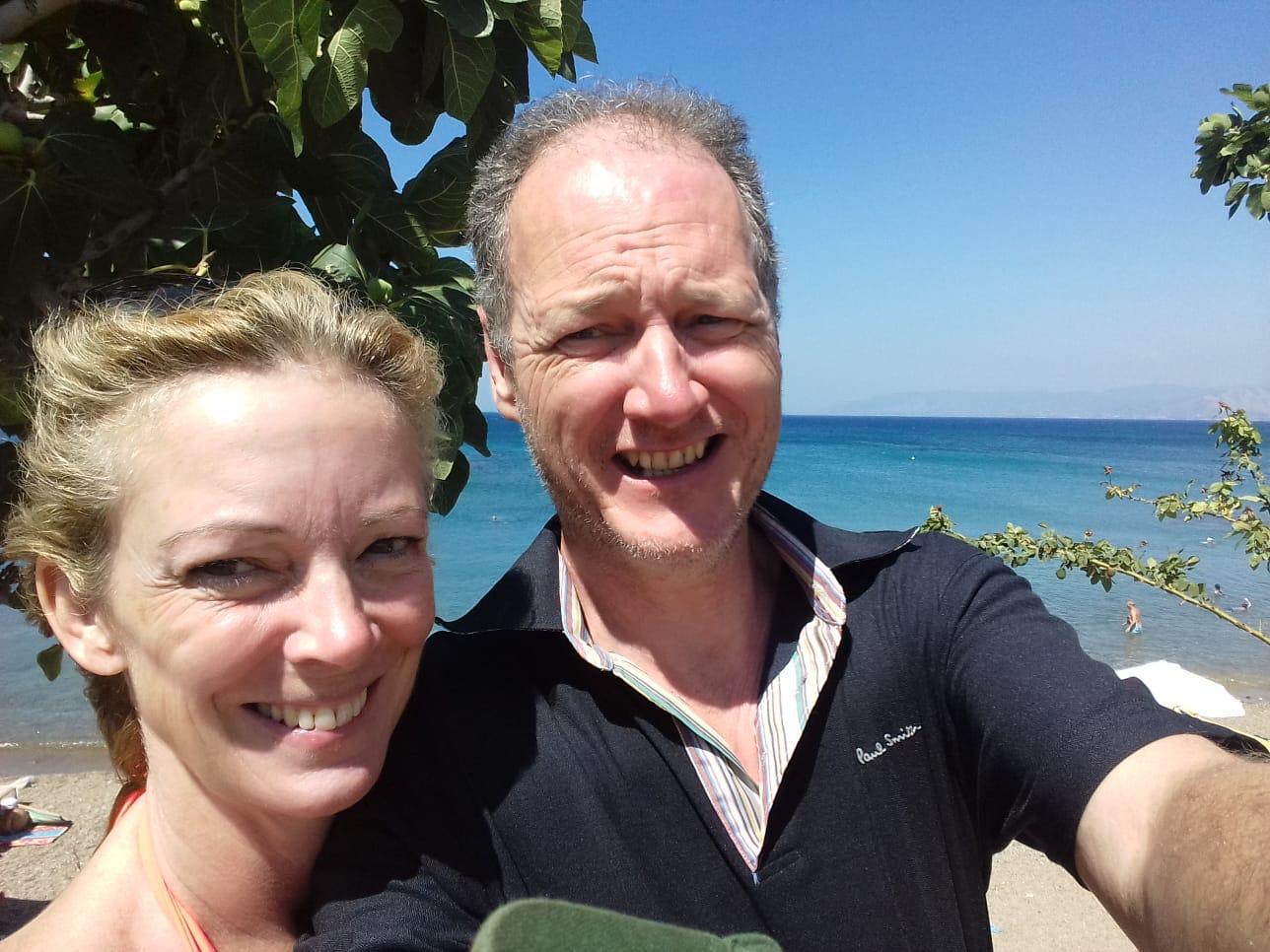 Susanna et Chris Naylor